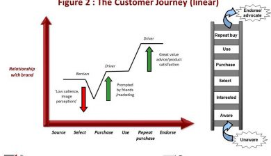 The Customer Journey (linear)