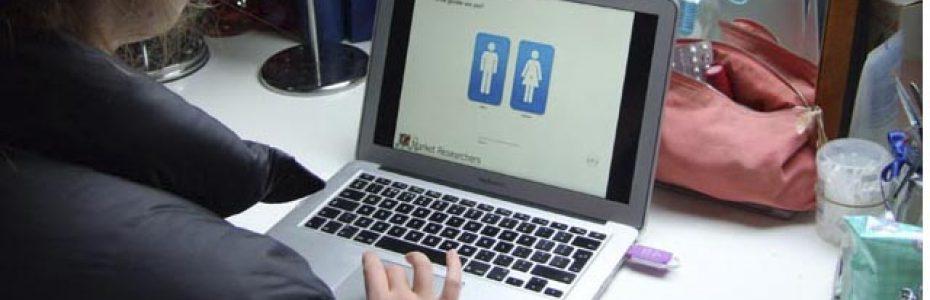 Completing an online quantitative survey